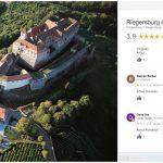 """Pagina de Google a Castelului din Riegersburg, sub asaltul a sute de români indignați. """"Arthur, Romania"""" și recenzii de o stea pentru afacerea prințului care a împușcat ursul din Covasna"""
