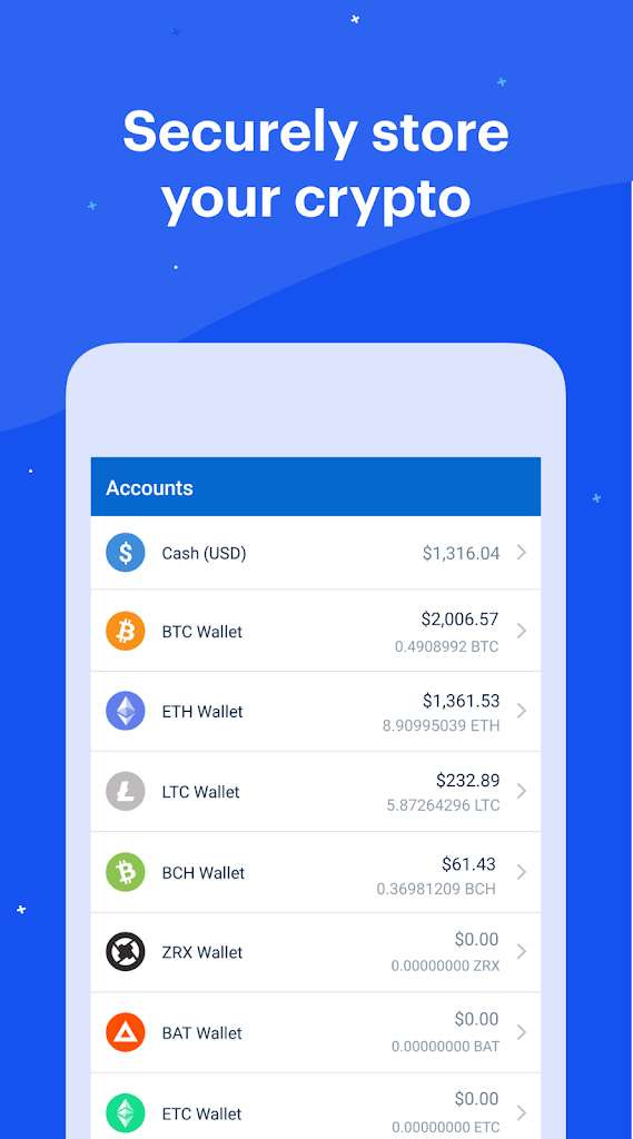 Download Coinbase - Bitcoin Wallet for Android free - G7R