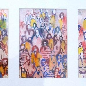 PRIX DE L'EXPRESSION ARTISTIQUE LOCALE : décerné par la Commission Culture de la Ville, Guylaine QUINET pour le n°171 « Triptyque »