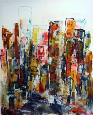 PRIX DE L'OFFICE CULTUREL DE VILLEFRANCHE / PRIX Elisabeth LAMURE 2010 : Chris MANUS pour le n°142 « New-York » n°1