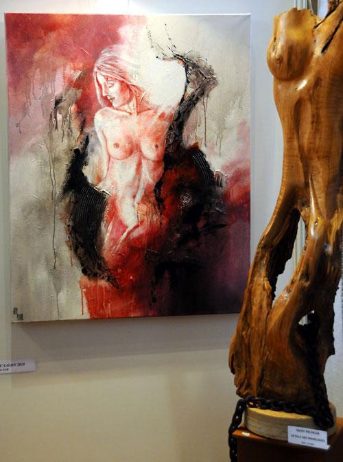 GRAND PRIX DU SALON 2010 : Offert par le GAB, Jacky PECHEUR pour l'ensemble de son oeuvre