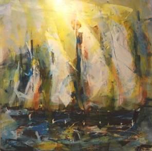 PRIX DE LA CREATIVITE : Offert par le GAB Chris MANUS pour les n° 119 « Les voiliers » et 120 « Paysage provençal »