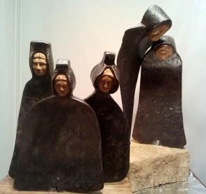 PRIX DE LA CREATIVITE : Offert par le GAB Jean-Jacques ARNAUD pour les sculptures n° 4 « Les trois sœurs » et n° 5 « Chagrin »
