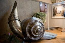 """PRIX DE LA VILLE DE VILLEFRANCHE Romain LEVASSEUR pour la sculpture n° 138 """"Co-escargotage"""""""