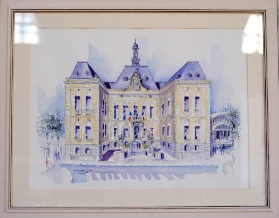 PRIX DE LA VILLE DE VILLEFRANCHE Robert RAUSA pour le n°191 « L'Hôtel de Ville »