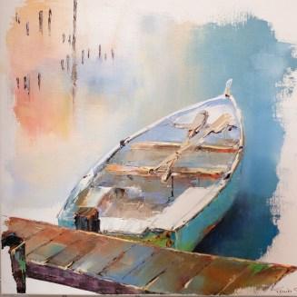 PRIX DU THEME Offert par le GAB Solange TERRIER pour le n° 214 « La Barque »