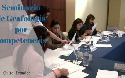 Seminario de Grafologia por Competencias – Quito Ecuador