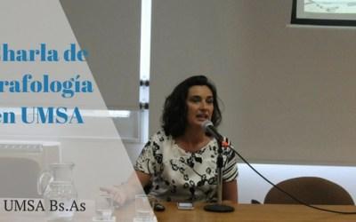Charla Informativa sobre Grafología – UMSA