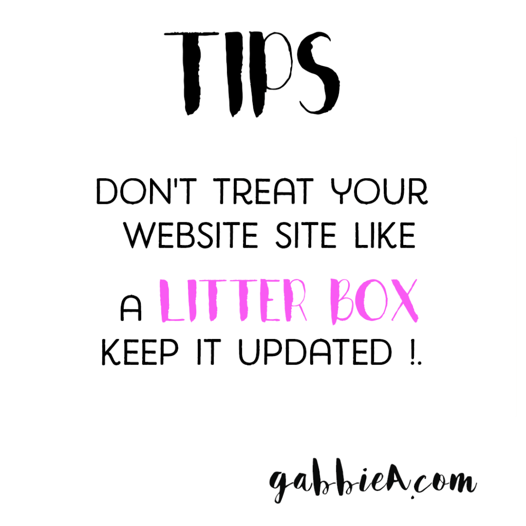 Don T Treat Your Website Like A Litter Box