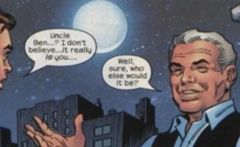 No One Stays Dead In Comics Except Bucky, um, Jason Todd, hmmm…Uncle Ben?