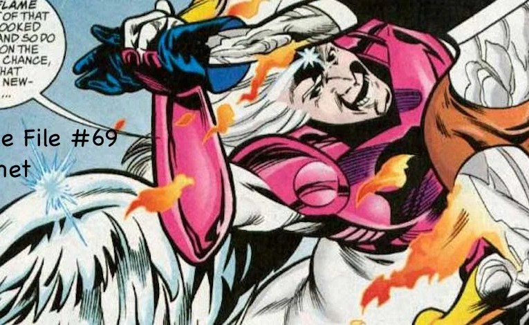Slightly Misplaced Comic Book Heroes Case Files #69:  Comet