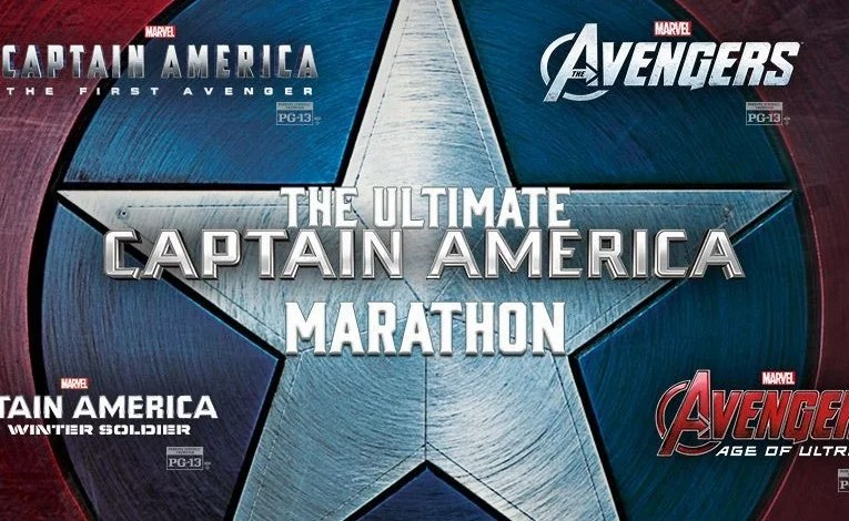 Is Your Butt Ready For A Captain America Movie Marathon?