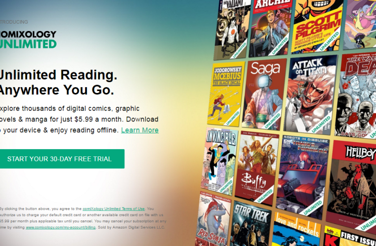 Comixology Unlimited Lets You Read A Graphic Ton Of Comic Books For $6 A Month