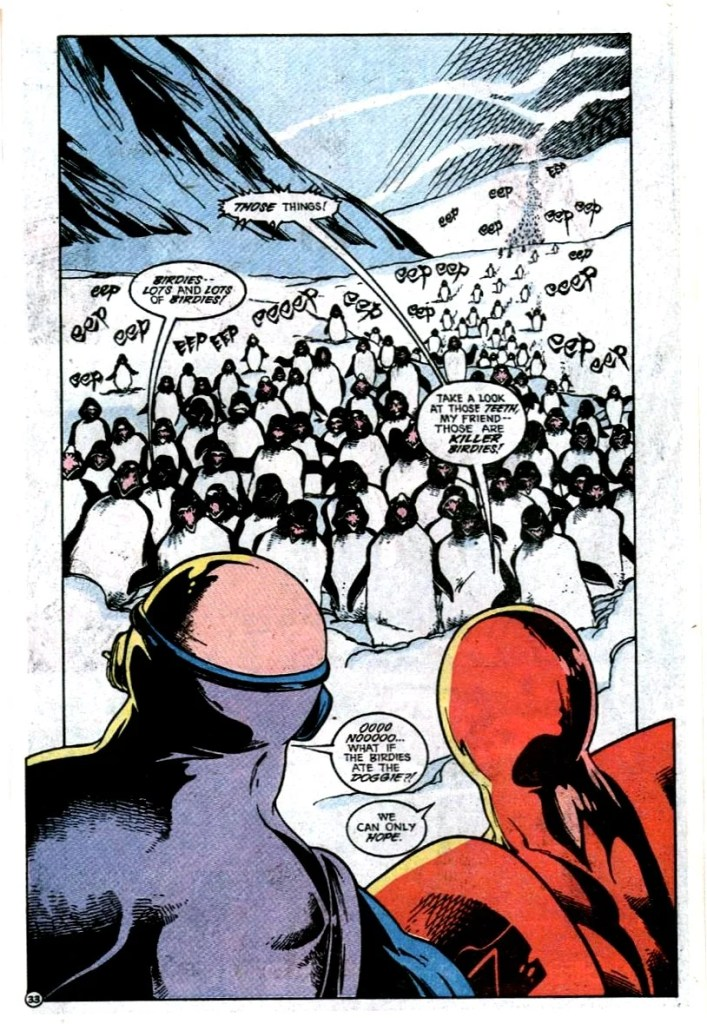 The single funniest issue in a very funny run of Justice League stories.