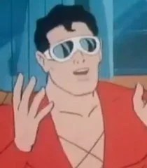 Cartoon Plastic Man