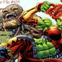 Slightly Misplaced Comic Book Hero Case File #105:  Lyra, The Other She-Hulk