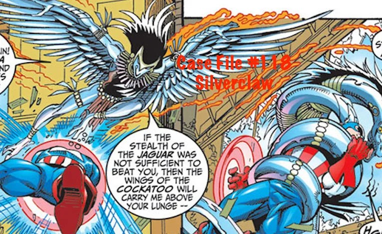 Slightly Misplaced Comic Book Heroes Case File #118:  Silverclaw