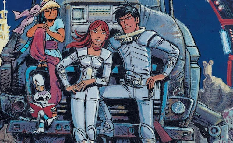 Comic Review:  Valerian The Complete Collection Volume 1