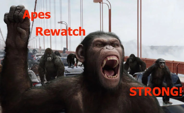 Planet Of The Apes Rewatch:  Dawn Of The Planet Of The Apes
