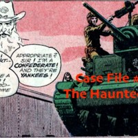Slightly Misplaced Comic Book Heroes Case File #132:  The Haunted Tank
