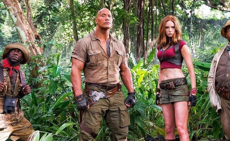 Geek Review:  Jumanji: Welcome To The Jungle