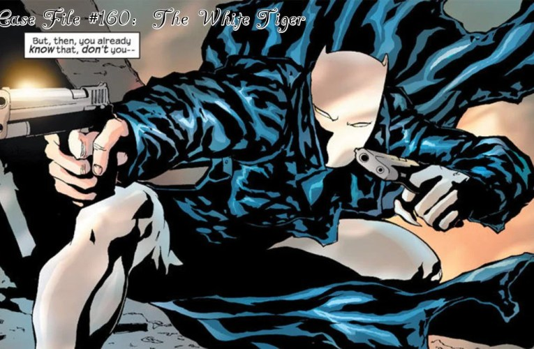 Slightly Misplaced Comic Book Heroes Case File #160:  White Tiger