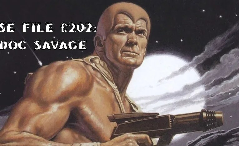 Slightly Misplaced Comic Book Heroes Case File #202:  Doc Savage
