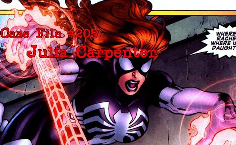 Slightly Misplaced Comic Book Heroes Case File #205:  Julia Carpenter
