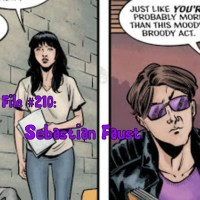 Slightly Misplaced Comic Book Heroes Case File #210:  Sebastian Faust