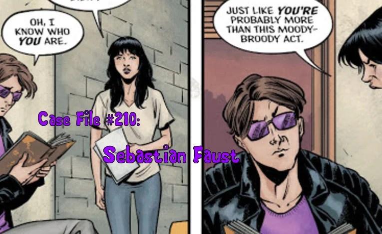 Slightly Misplaced Comic Book Heroes Case File #210:  Sebastian Faust