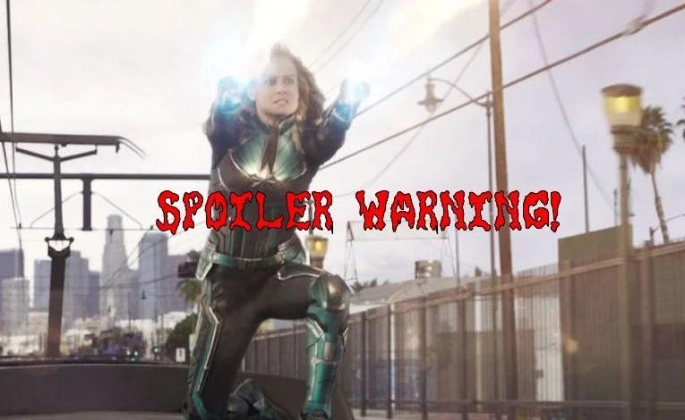 Spoiler Stuff:  Captain Marvel