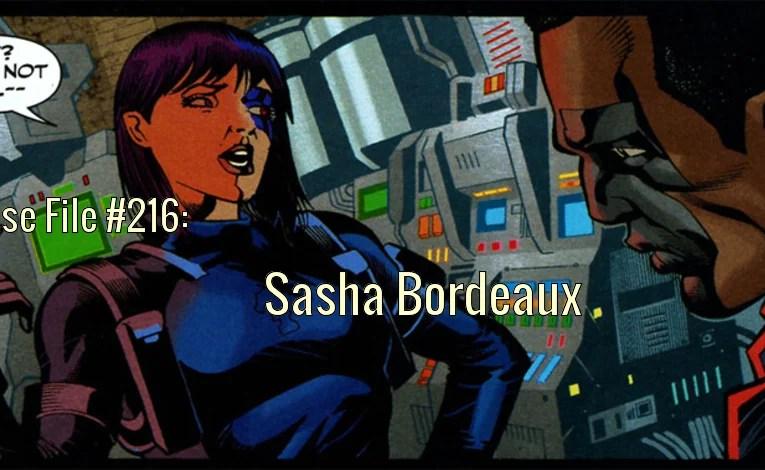 Slightly Misplaced Comic Book Heroes Case File #216:  Sasha Bordeaux
