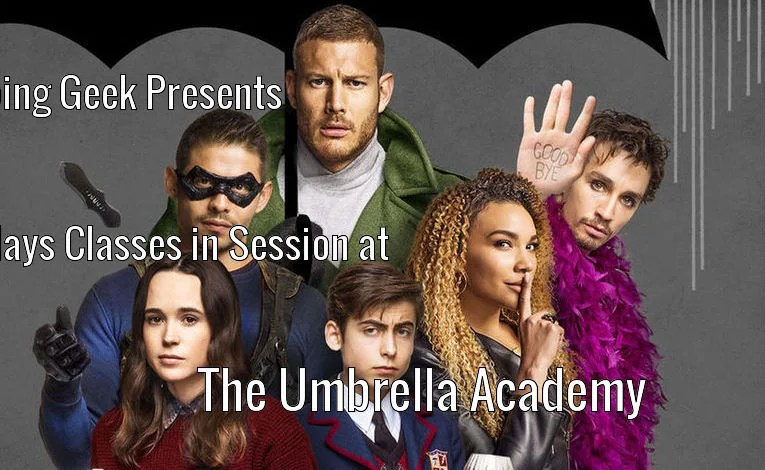"The Umbrella Academy ""Number Five"""