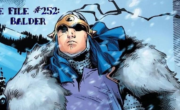 Slightly Misplaced Comic Book Heroes Case File #252:  Balder