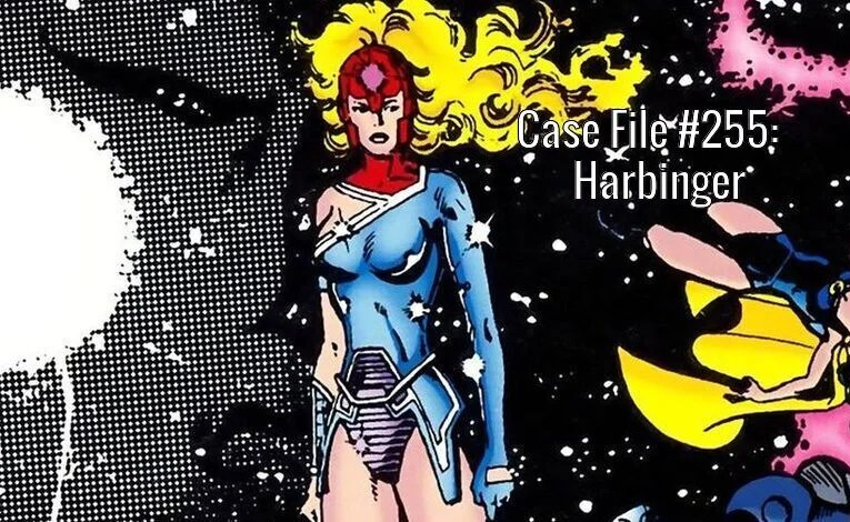 Slightly Misplaced Comic Book Case Files #255:  Harbinger