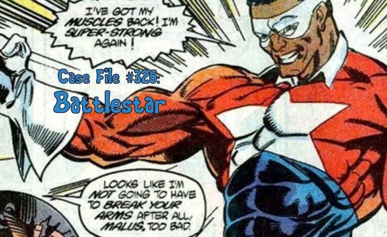 Slightly Misplaced Comic Book Characters Case File #326: Battlestar