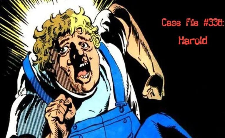 Slightly Misplaced Comic Book Characters Case File #338:  Harold Allnut