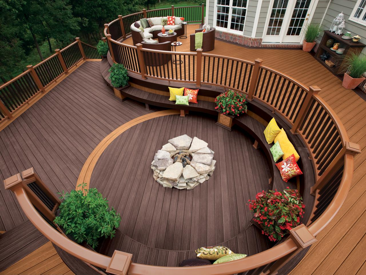 Creating Relaxing Area At Home With Decking Bench Ideas Gabdearq