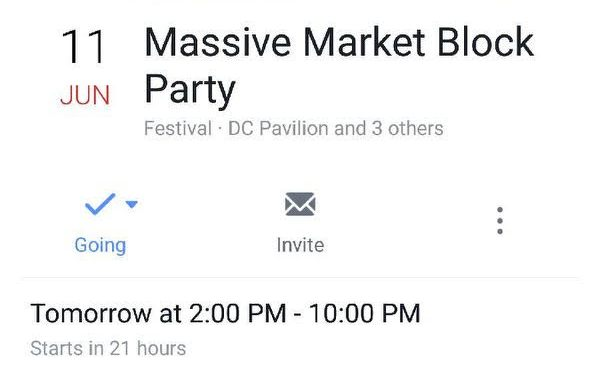 One Love Massive Block Party!