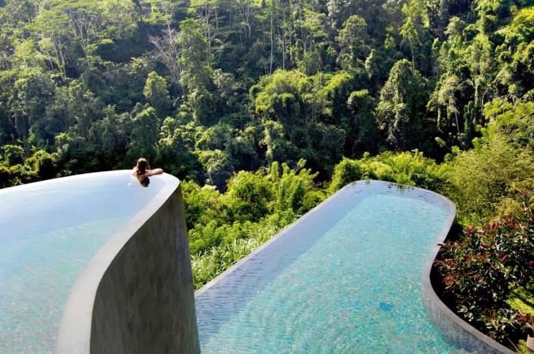 piscinas mais incríveis ubud