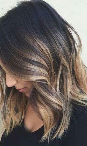 atualizar o corte de cabelo, long bob, ombre, morena, cabelo