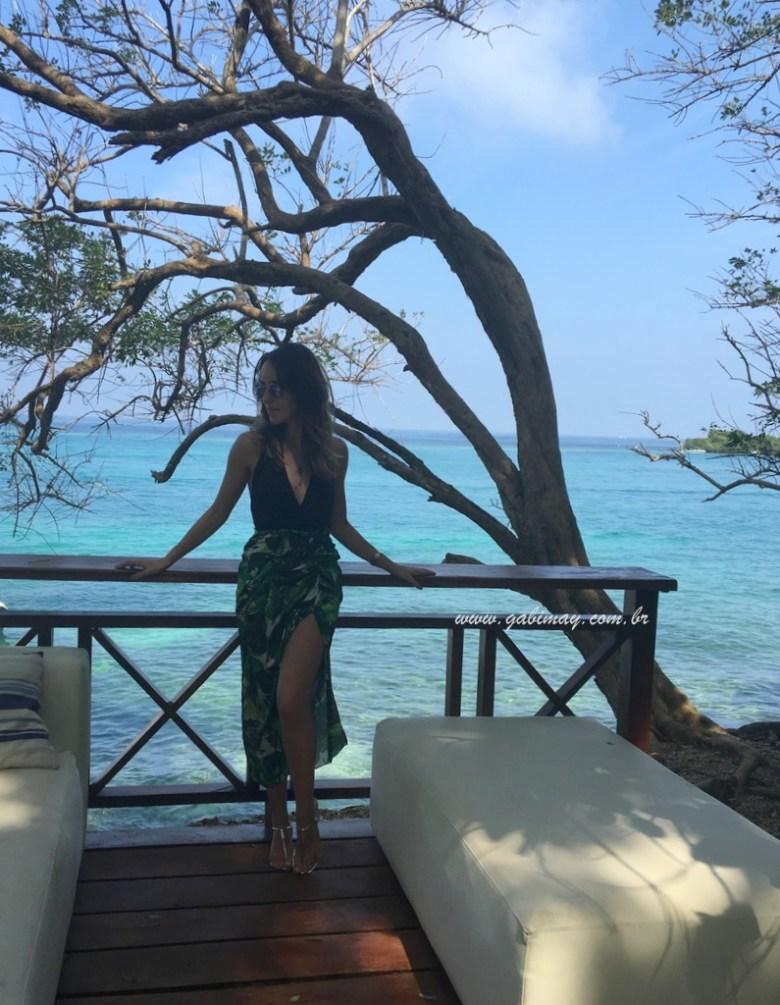 Islas del Rosario, Cartagena, Colombia, praia, viagem, férias, dicas, hotel San Pedro de Majagua, trip, trip tips, vacations, beach