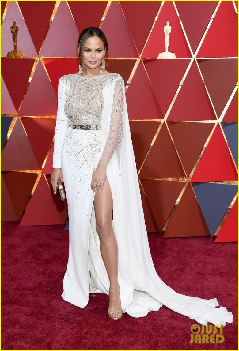 oscar 2017, academy awards, celebridades, moda, estilo, tapete vermelho, vestidos, bem vestidas, celebrities, hollywood, gown, best dressed, red carpet, chrissy teigen