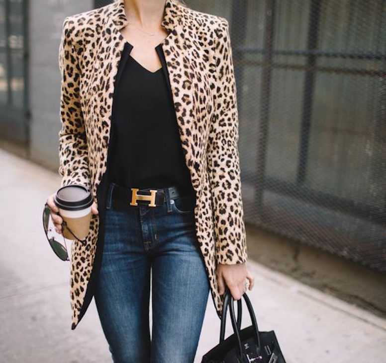 casaco de onça, moda, estilo, look, inspiração, leopard coat, fashion, style, inspiration, outfit