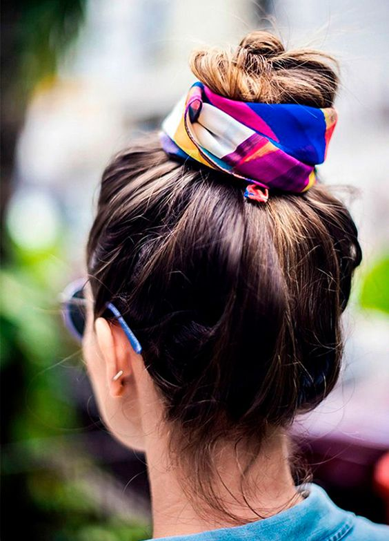 coque com lenço, praia, tendência, verão, acessório, moda, estilo, scarf bun, fashion, style, accessory, summer, beach