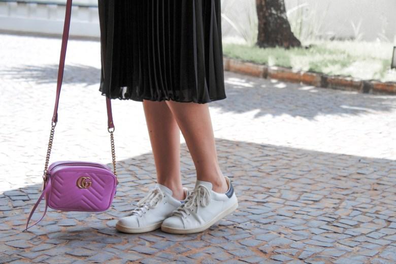 saia mídi e tênis, gabi may, look do dia, look, moda, estilo, inspiração, combinação inusitada, midi skirt, white sneaker, fashion, style, inspiration, trend, outfit of the day, ootd