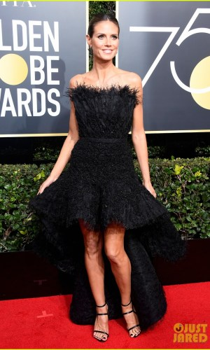 golden globe awards, golden globes 2018, moda, estilo, looks, inspiração, celebridades, tapete vermelho, fashion, style, outfits, gowns, inspiration, celebrities, red carpet, time's up, heidi klum