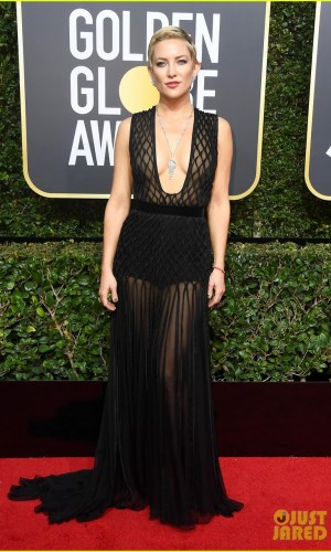 golden globe awards, golden globes 2018, moda, estilo, looks, inspiração, celebridades, tapete vermelho, fashion, style, outfits, gowns, inspiration, celebrities, red carpet, time's up, kate hudson