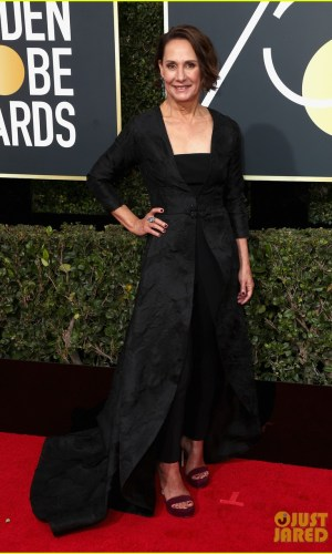 golden globe awards, golden globes 2018, moda, estilo, looks, inspiração, celebridades, tapete vermelho, fashion, style, outfits, gowns, inspiration, celebrities, red carpet, time's up, laurie metcalf