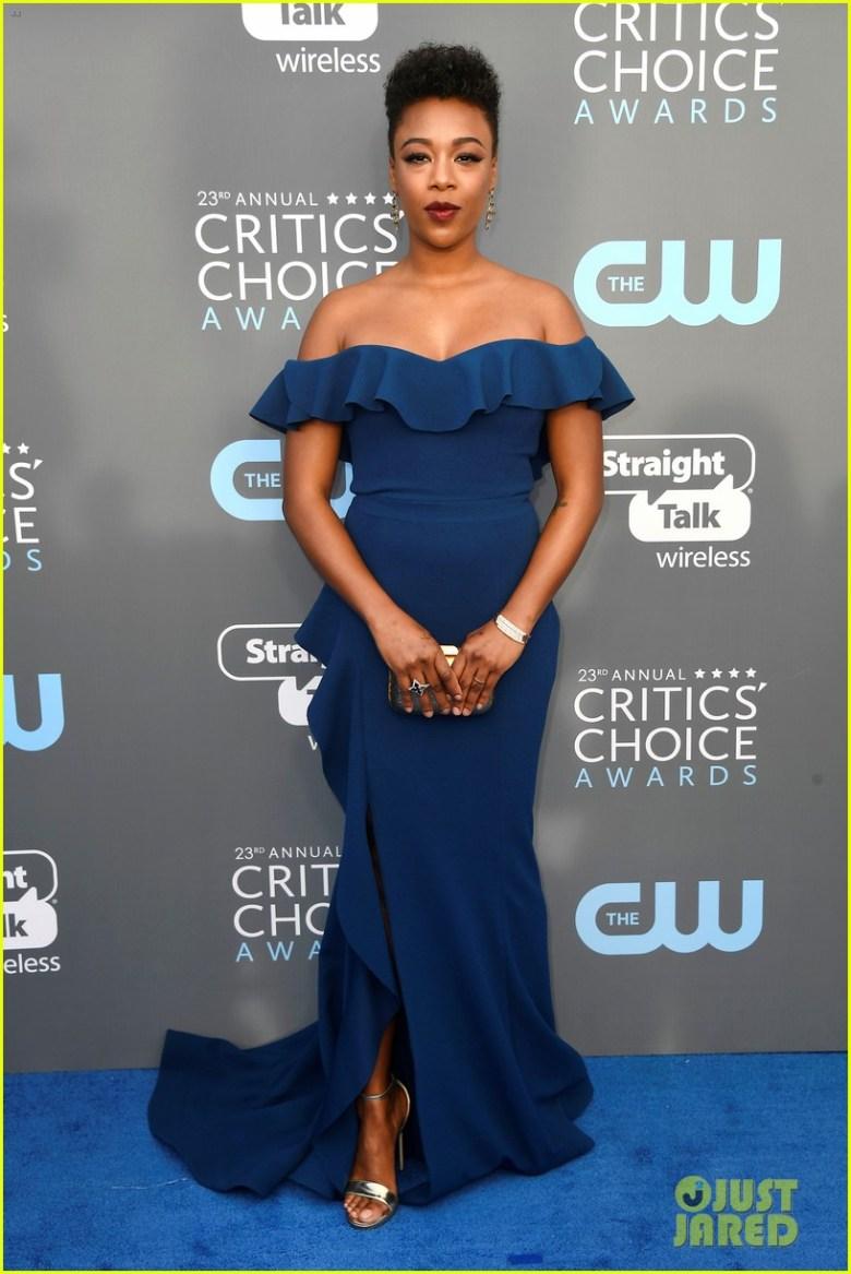 Critics' Choice Awards 2018, moda, estilo, looks, vestidos longos, celebridades, fashion, style, inspiration, gowns, celebrities, samira willey